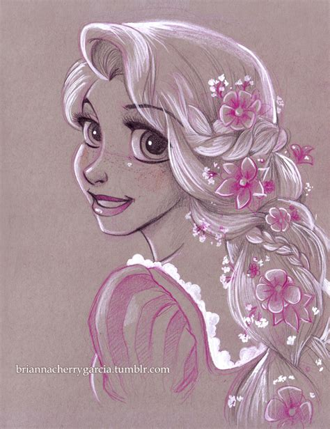 disney princess rapunzel cartoon drawings rapunzel disney princess fan art 36404042 fanpop