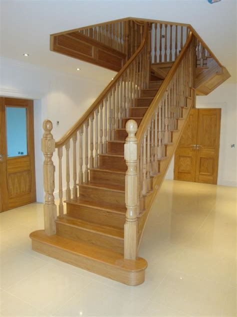 stair cases stairs donegal modern traditional staircases doors wood products haughey joinery