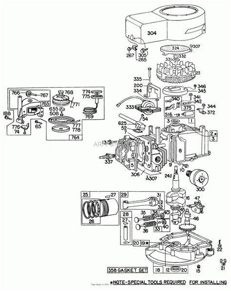 briggs stratton 18 5 ohv diagram wiring diagram with