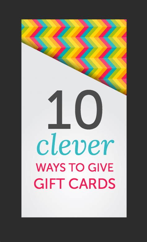 Give Gift Cards - you get a gift card and you get a gift card