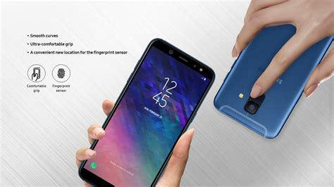 Harga Laptop Samsung A6 samsung galaxy a6 and galaxy a6 launched india
