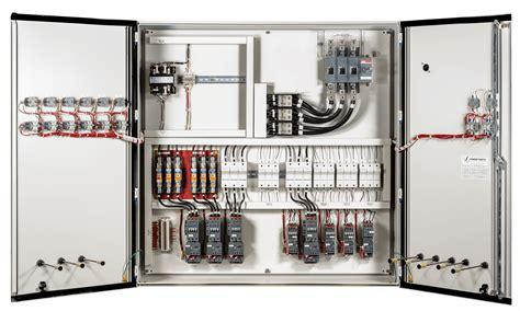 custom control panels power industrial controls