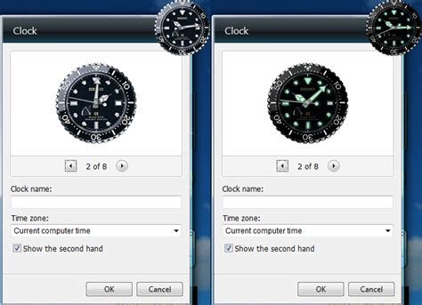 Win Win Win Gadget Skins From Skins4things grand seiko diver clock gadget skin for windows by
