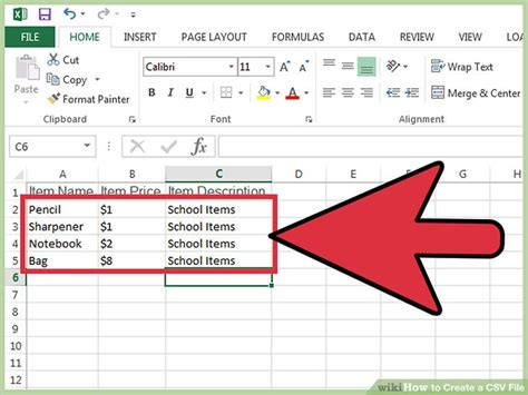 csv format how to how to create a csv file 12 steps with pictures wikihow