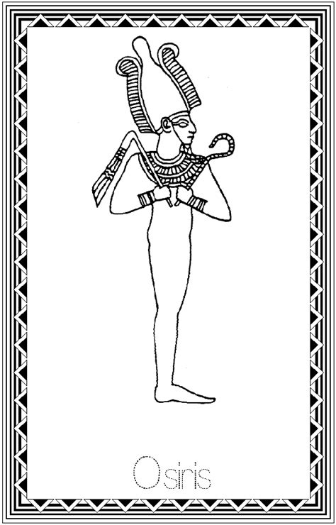 coloring pages egyptian gods egyptian gods coloring pages kk god pinterest