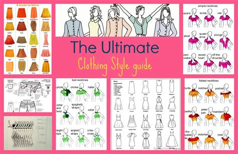 sewing pattern guide the ultimate clothing style guide free sewing patterns