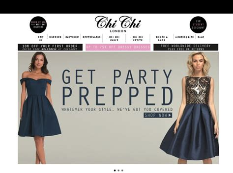 Wardrobe Voucher Code by Chi Chi Clothing Voucher 10