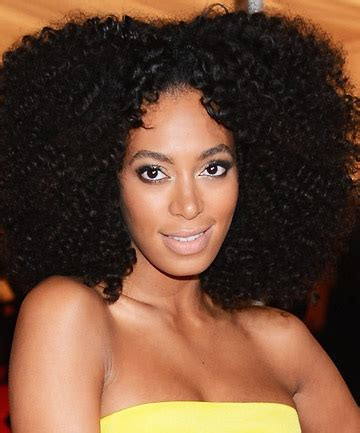 solange hair styles parted in the middle solange knowles center part natural hair 12 celebrity