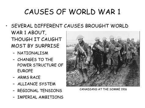 brief introduction to ww1 causes of world war 1 essay introduction compare and contrast the causes of world war i and