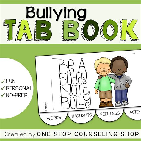 reference book about bullying new product bullying tab book