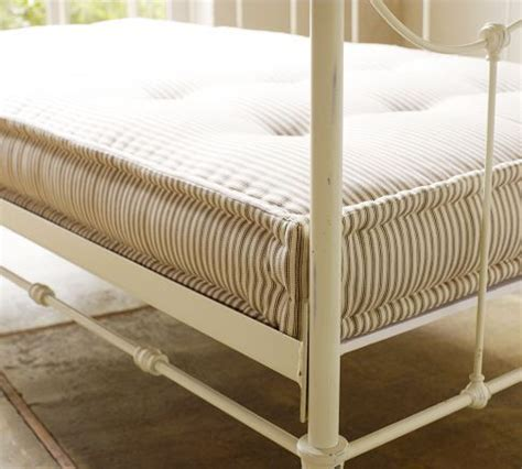 Outdoor Daybed Mattress Pottery Barn Upholstered Daybed Mattress Ticking Stripe Black Room