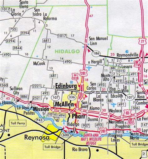 map of hidalgo county texas hidalgo county map texas texas hotels motels vacation rentals places to visit in texas
