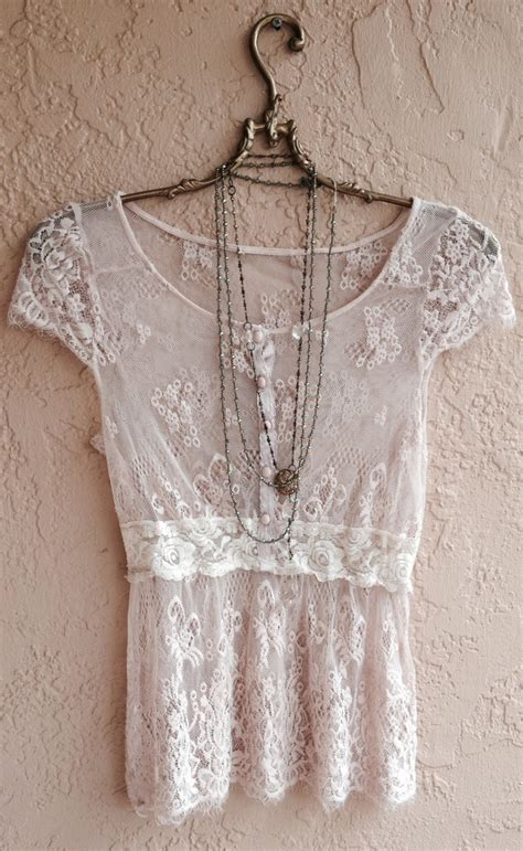 boho gypsy sheer lace top pictures   images