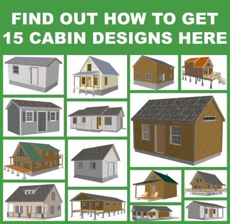 your bug out cabin plans survivalkit