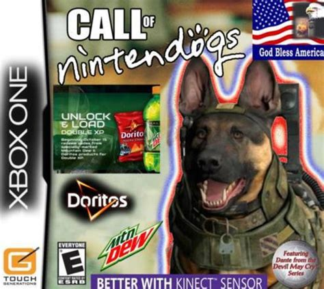 Call Of Duty Dog Meme - god bless america call of duty dog know your meme