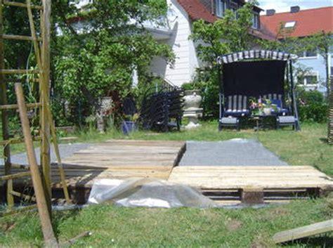 Pavillon Unterbau by Holzterrasse 3 20 M X 3 20 M Aus Europaletten Bauanleitung