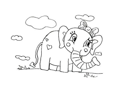 girl elephant coloring pages click the baby elephant girl coloring pages coloring