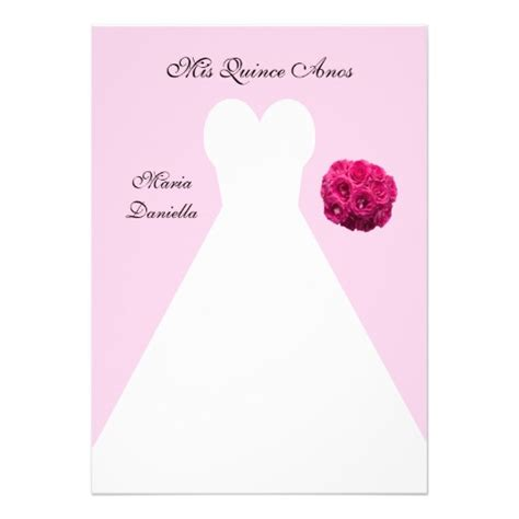 printable quinceanera card quince invitation templates invitation template