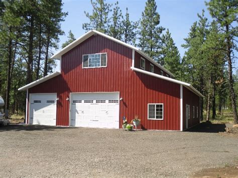 Spokane Garage Builders by Stimson Contracting Spokane Pole Barn Shop Garage Builder