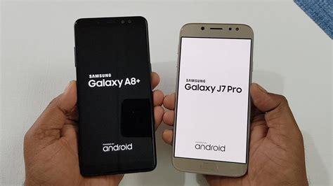 Samsung A8 Pro samsung galaxy a8 2018 vs samsung j7 pro speed test comparison