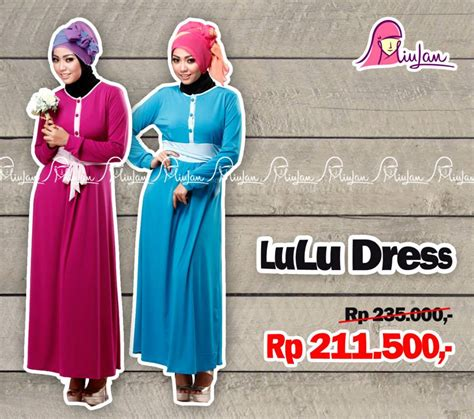 Jilbab Instan By Lulu promo lulu dress miulan boutique