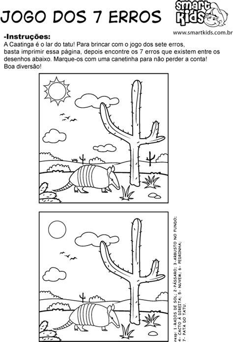 Atividade Ecologia Sete Erros - Atividades - Smartkids