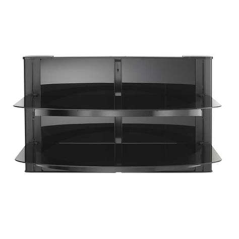 Sanus Component Shelf by Sanus 2 Shelf Wall Mounted A V Component System With