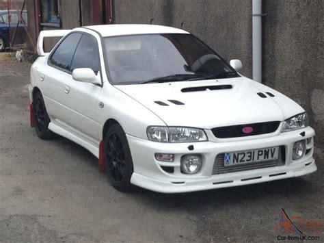 White Subaru by 1995 Subaru Impreza Wrx Turbo White