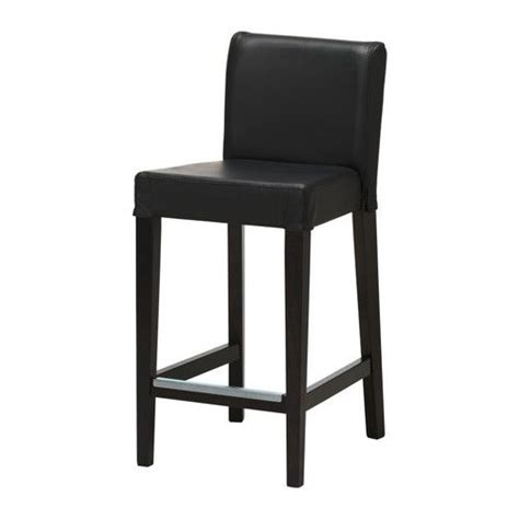 ikea bar stools leather henriksdal bar stool with backrest ikea soft hardwearing