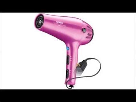 Conair 1875 Hair Dryer Stopped Working conair 1875 watt cord keeper hair dryer with ionic