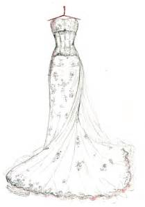 Pics photos top bridal designers sketch wedding gowns for kate