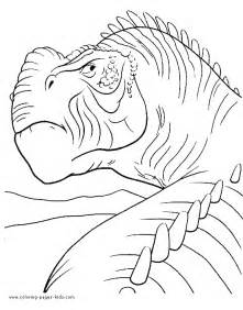 disney dinosaur carnotaurus coloring pages coloring pages