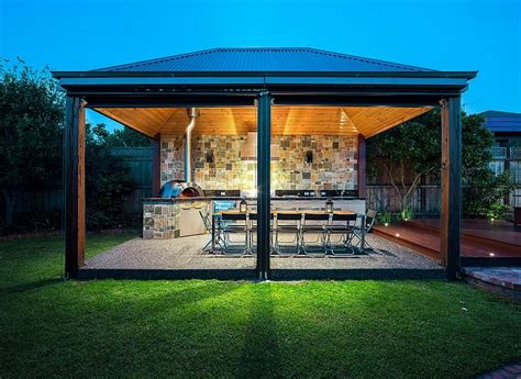 outdoor kitchen with shelter outdoor kitchen designing the perfect outdoor kitchen
