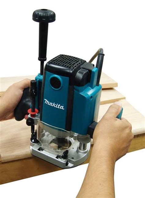 routers for woodworking makita rp1800 3 1 4 hp plunge router power plunge