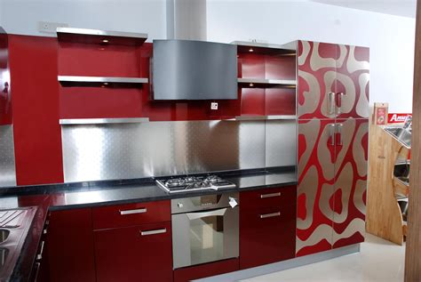 red kitchen cabinet red kitchen cabinets as elegant kitchen design