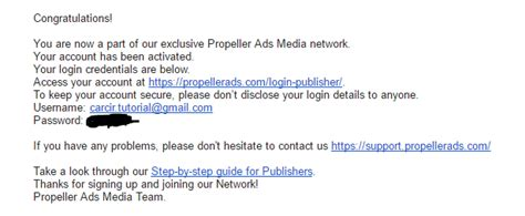 cara membuat iklan di email cara membuat onclickads propeller ads di blog carcir