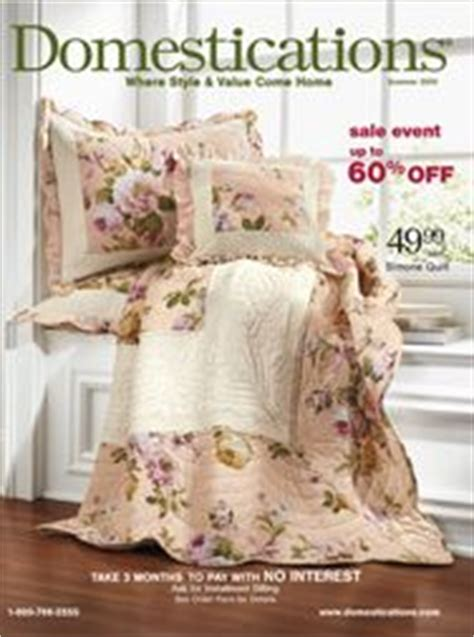 domestications bedding catalog seventh avenue magazines pinterest gardens love and
