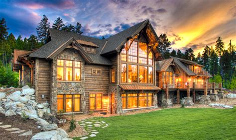 Our Favorite Rustic Mountain Home Designs Stillwater Rustic Mountain Home Designs