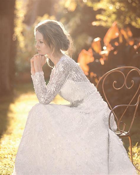 Hochzeitskleid Langärmlig by Brautkleider F 252 R Den Winter Friedatheres