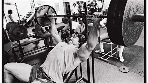 arnold schwarzenegger max bench press the ultimate arnold training guide muscle fitness