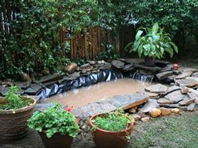 installing a backyard pond outdoor pond installation hgtv