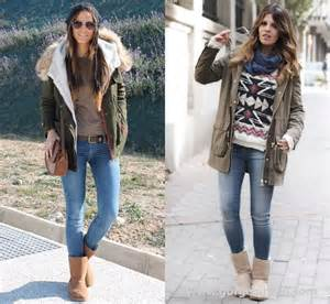 Ugg boots street style fashion outfit ideas