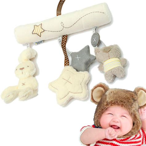 Baby Crib Hanging Toys by Children Baby Crib Hanging Rattle Musical Bell Soft Plush