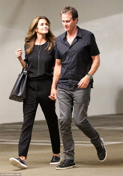 Cindy Crawford joins husband Rande Gerber for a date in