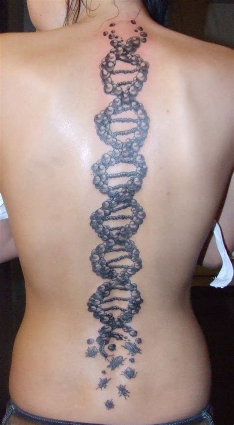 dna strand tattoo dna tattoos designs ideas and meaning tattoos for you