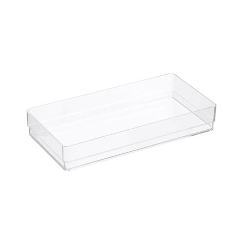 Acrylic Dividers For Drawers by Acrylic Office Drawer Organizers The Container Store