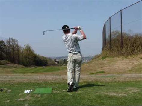 left handed golf swing left handed golf swing 7i 1w