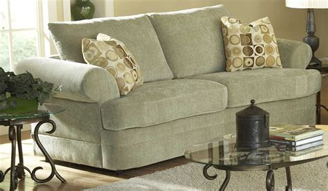 chenille couch homelegance sutton sofa in mint chenille 9839mt 3