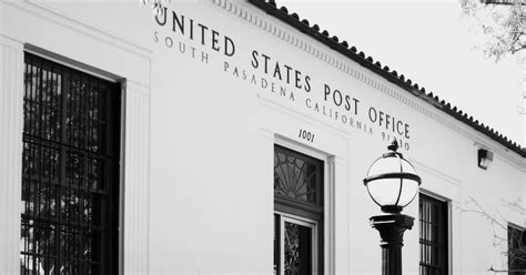 South Pasadena Post Office Hours by Glimpses Of South Pasadena South Pasadena Post Office