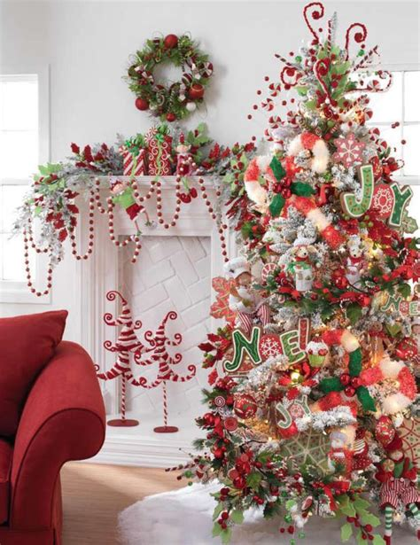 christmas decorating themes christmas tree decorations ideas 2016 2017 fashion